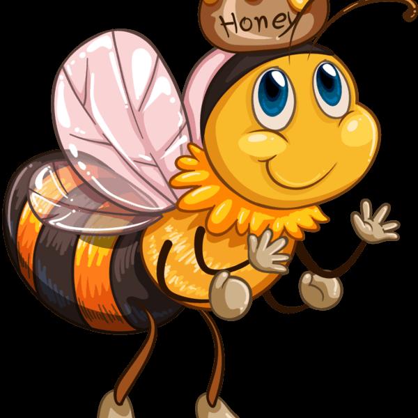 bi med honung
